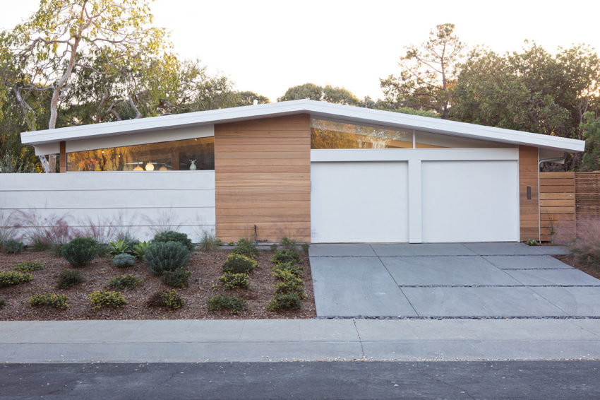 Truly Open Eichler Home By Klopf Architecture Arterra Landscape