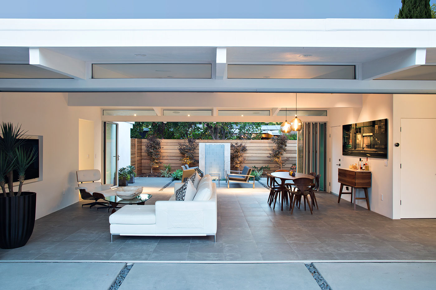 Truly Open Eichler Home By Klopf Architecture Arterra