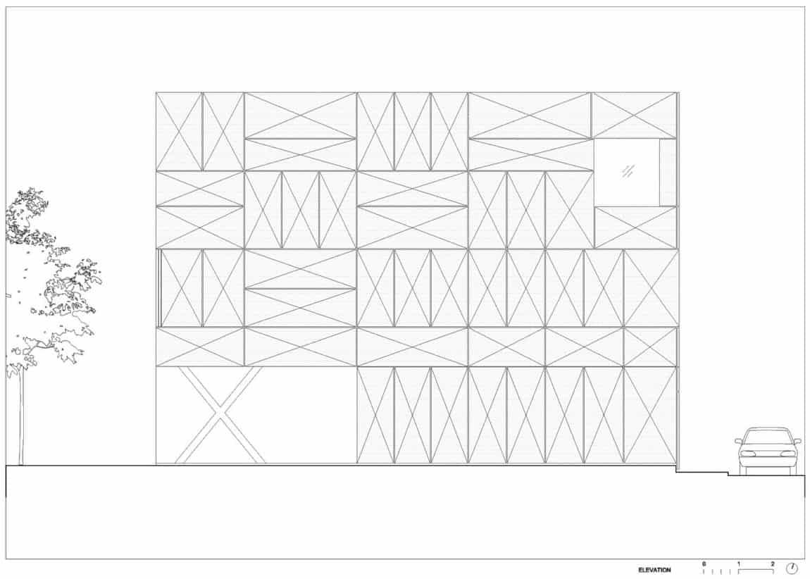 Villa Criss-Cross Envelope by OFIS Architects (29)