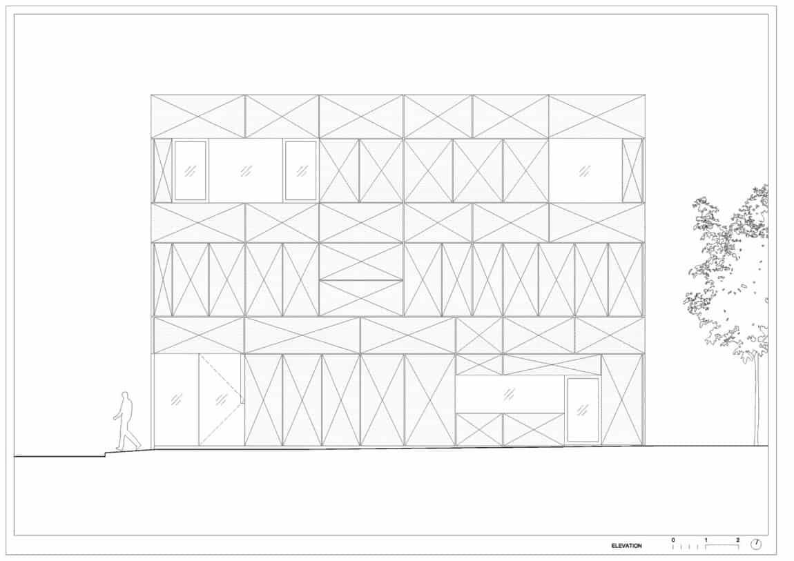 Villa Criss-Cross Envelope by OFIS Architects (32)