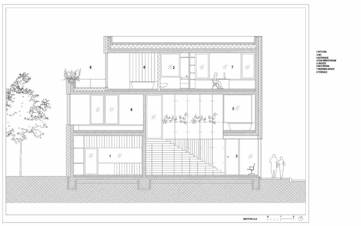 Villa Criss-Cross Envelope by OFIS Architects (33)