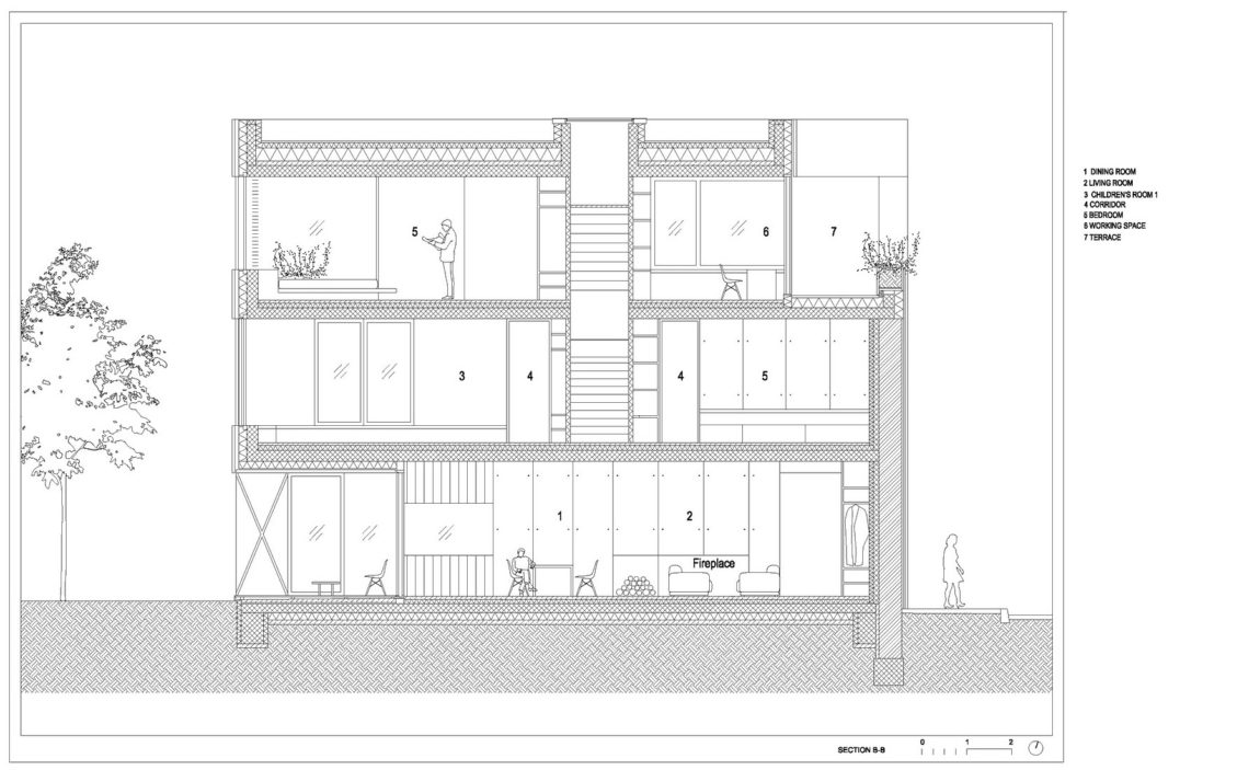 Villa Criss-Cross Envelope by OFIS Architects (34)