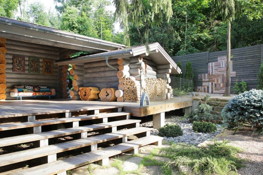Wooden Cottage by Elena Sherbakova (2)