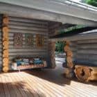 Wooden Cottage by Elena Sherbakova (3)