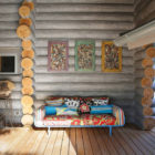 Wooden Cottage by Elena Sherbakova (4)