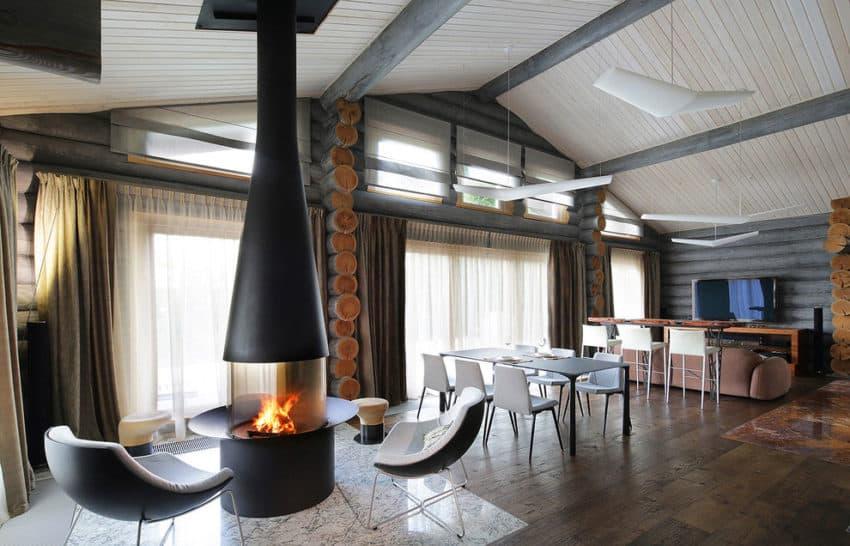 Wooden Cottage by Elena Sherbakova (6)