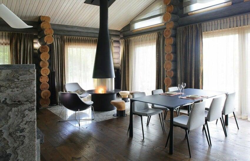 Wooden Cottage by Elena Sherbakova (8)