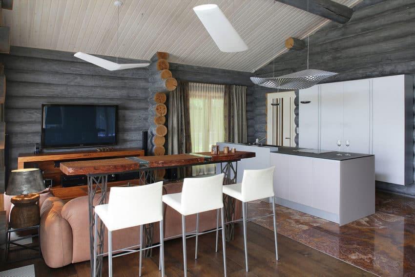 Wooden Cottage by Elena Sherbakova (10)