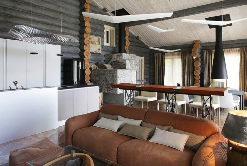 Wooden Cottage by Elena Sherbakova (13)