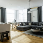 Top Floor Apartment in Gdynia by Dragon Art (1)