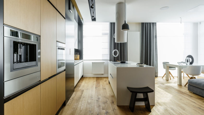 Top Floor Apartment in Gdynia by Dragon Art (9)