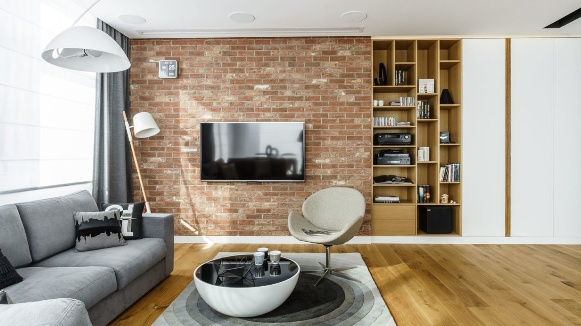 Top Floor Apartment in Gdynia by Dragon Art (11)