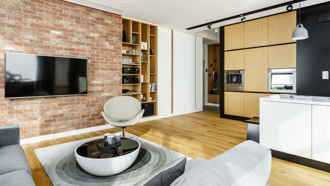 Top Floor Apartment in Gdynia by Dragon Art (13)
