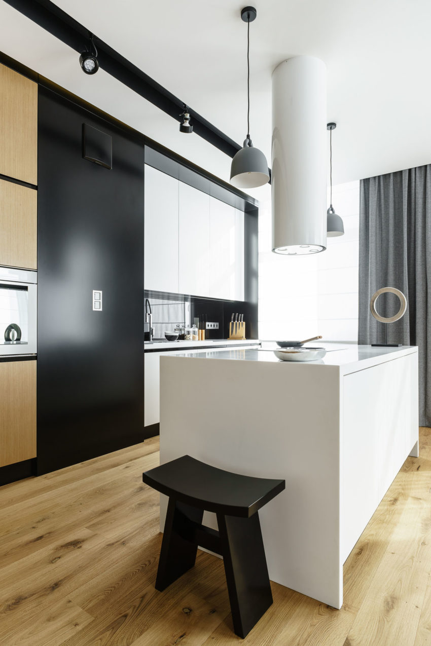 Top Floor Apartment in Gdynia by Dragon Art (14)