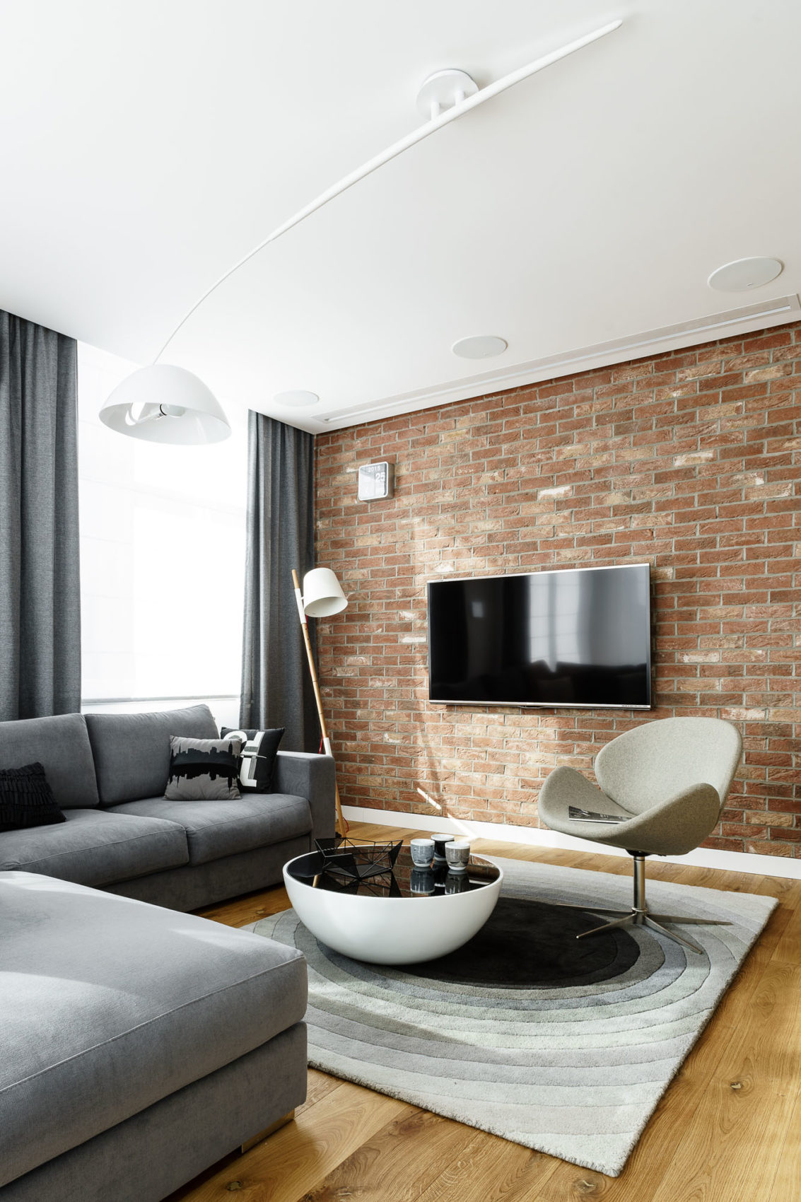 Top Floor Apartment in Gdynia by Dragon Art (18)