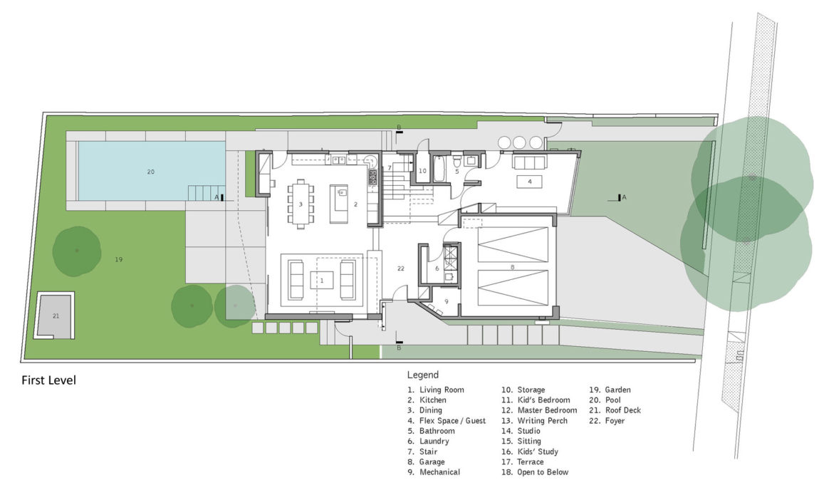 Holleb Residence by John Friedman Alice Kimm Architects (11)