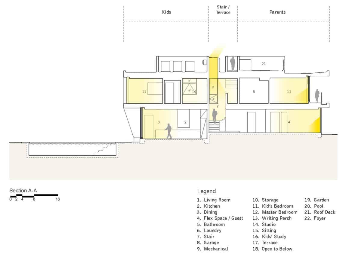 Holleb Residence by John Friedman Alice Kimm Architects (13)