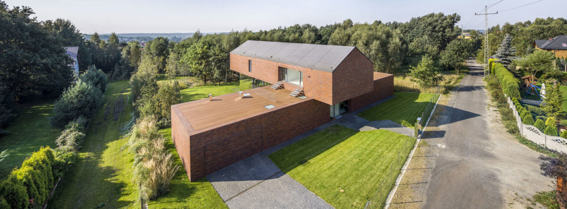 Living-Garden House in Katowice by KWK Promes (1)