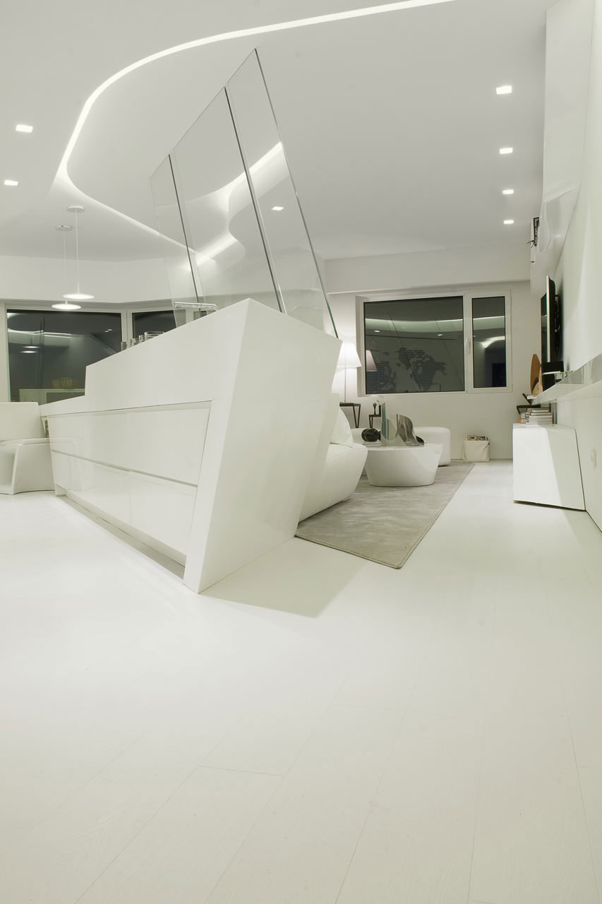 Madrid Penthouse by A-cero