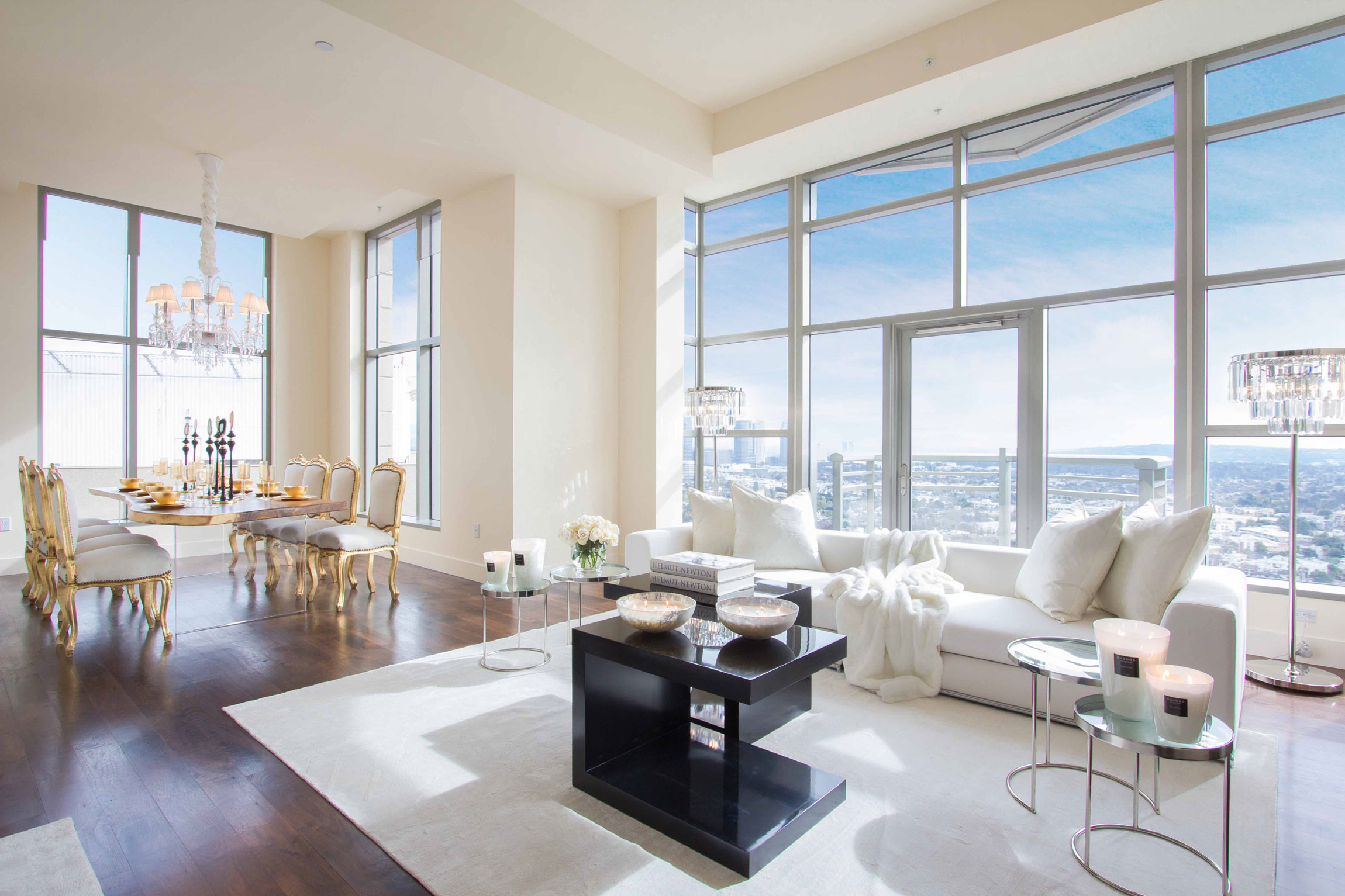 Penthouse in The Carlyle Residences by Premier Stagers