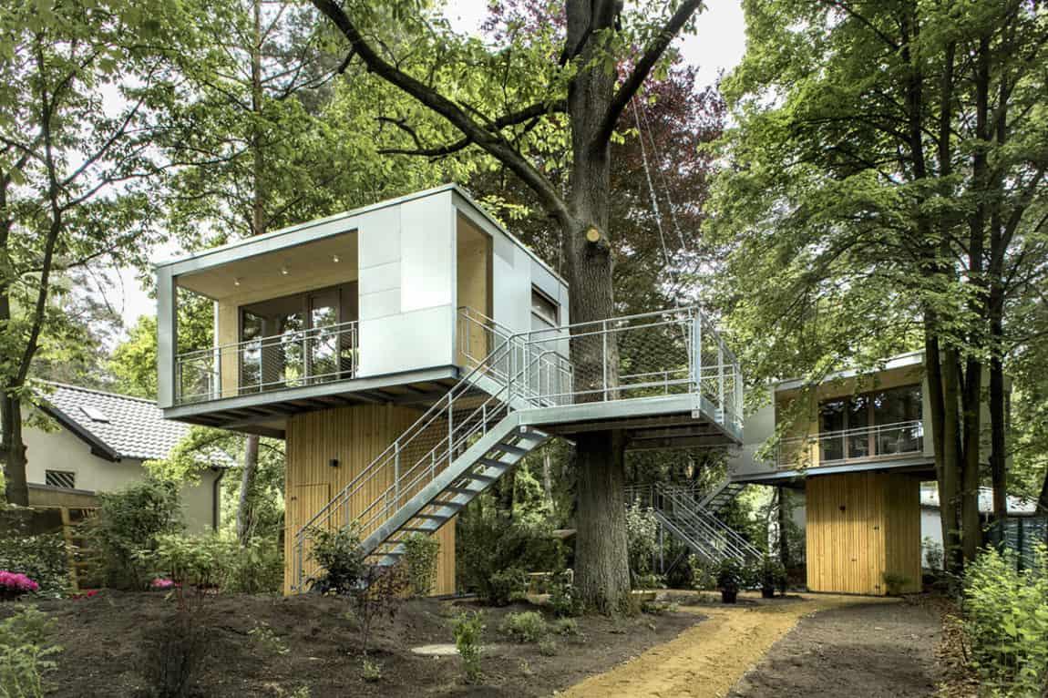 Urban Treehouse by baumraum (3)