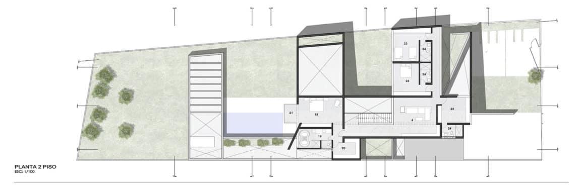 Casa Patios by Riofrio+Rodrigo Arquitectos (15)