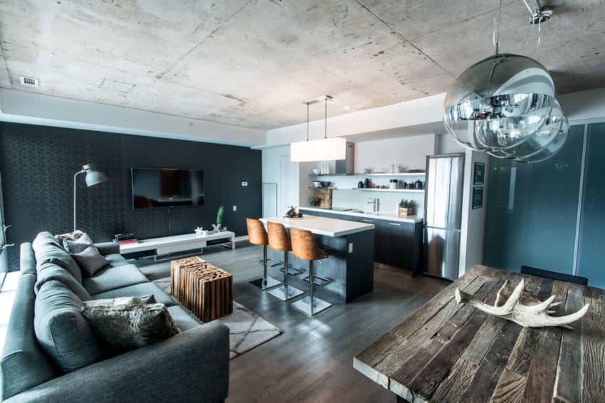 Industrial Condo Loft by LUX Design (2)