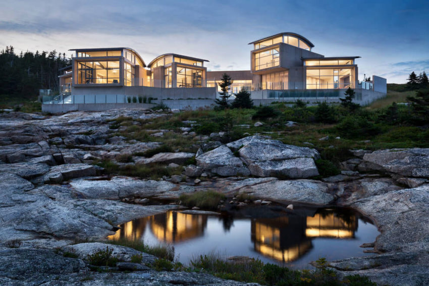 Nova Scotia Home by Alexander Gorlin Architects (14)