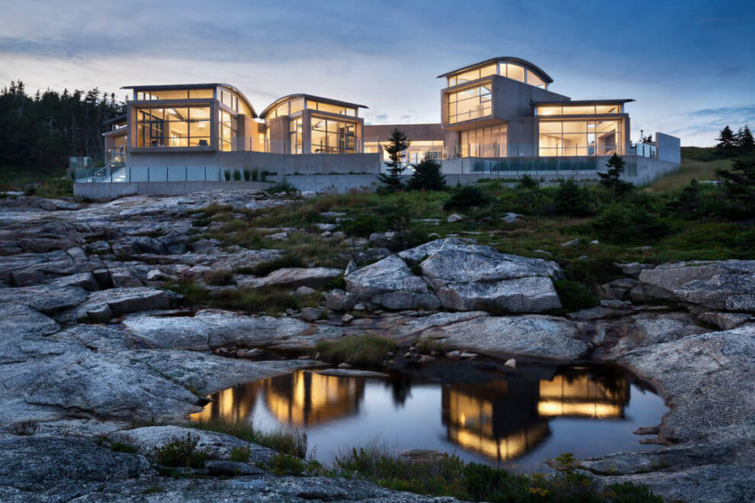Nova Scotia Home by Alexander Gorlin Architects (14)