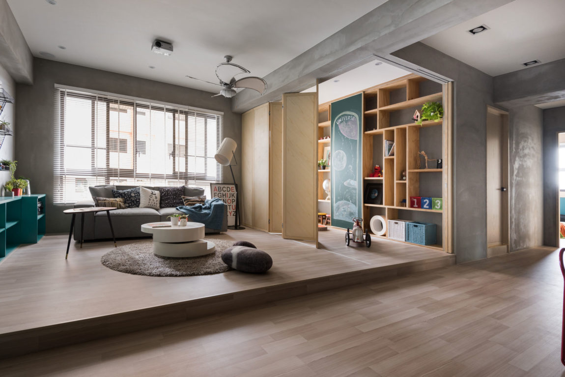 Outer space for kids by hao interior design 7