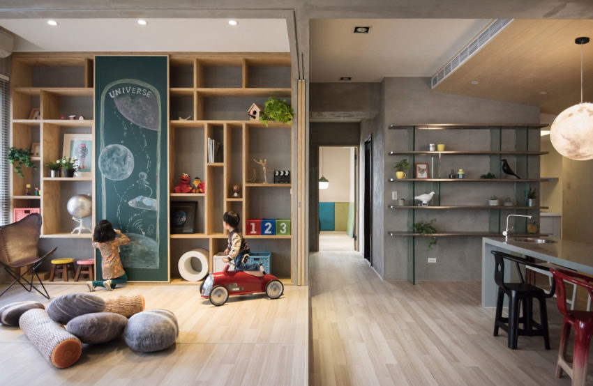 Outer space for kids by hao interior design for Outer space industrial design
