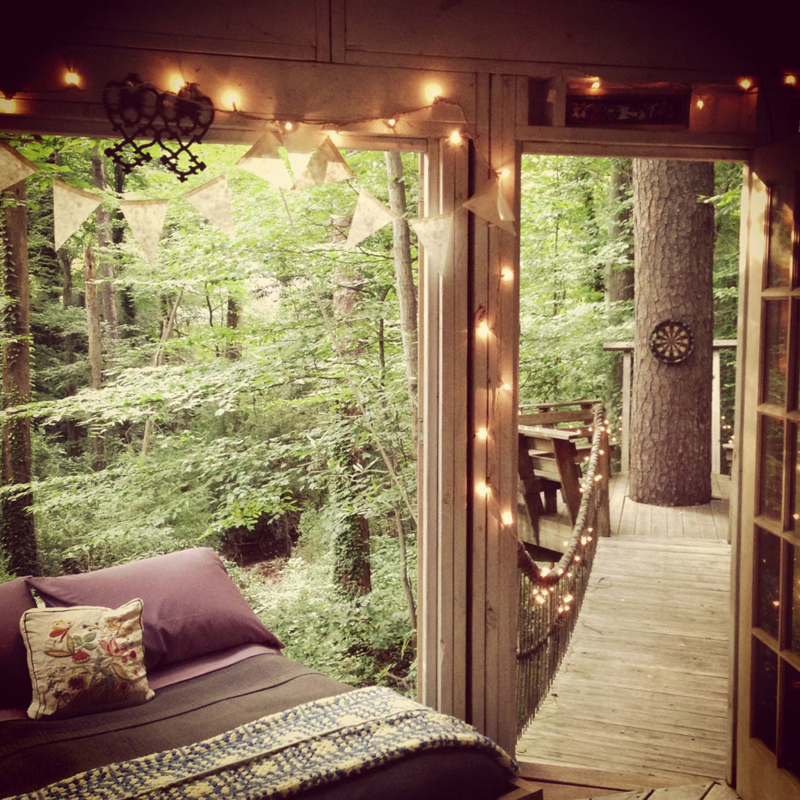Secluded Intown Treehouse (11)