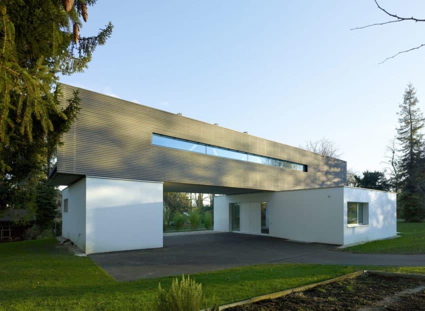A Single Family House by Christian von Düring architecte (1)