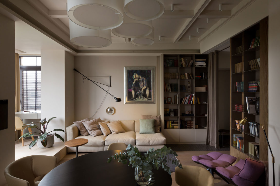 Apartment on Lva Tolstogo Street by Olga Akulova (1)