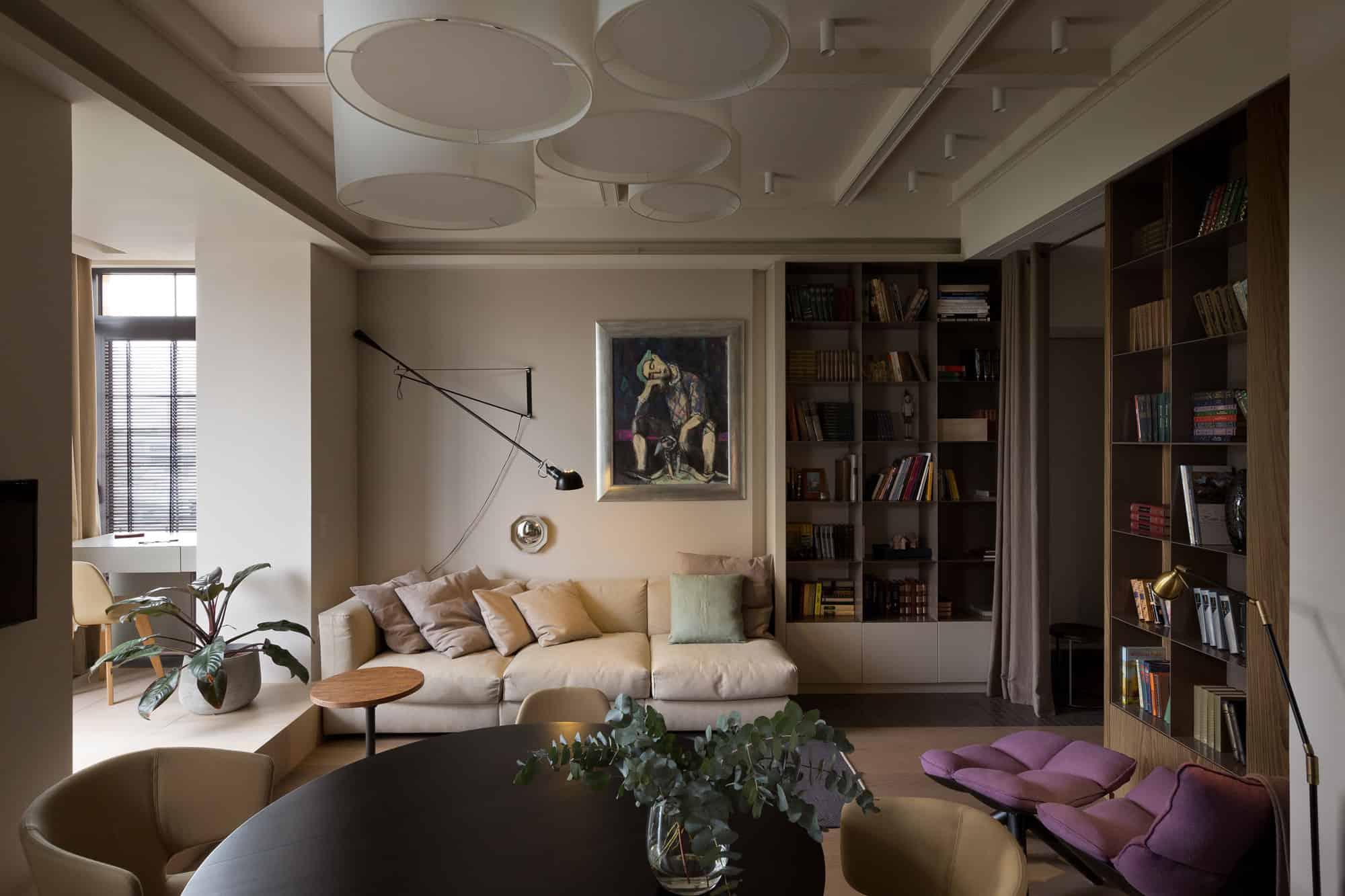Apartment on Lva Tolstogo Street by Olga Akulova