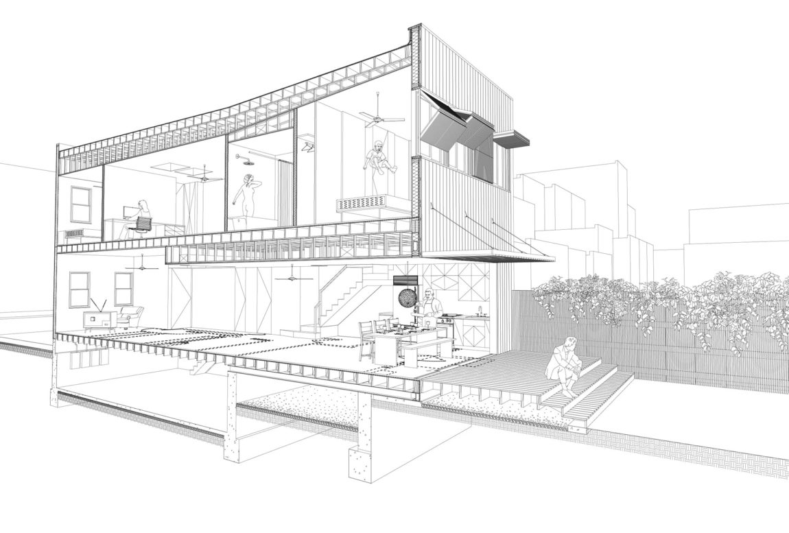 Brooklyn Row House by Office of Architecture (15)