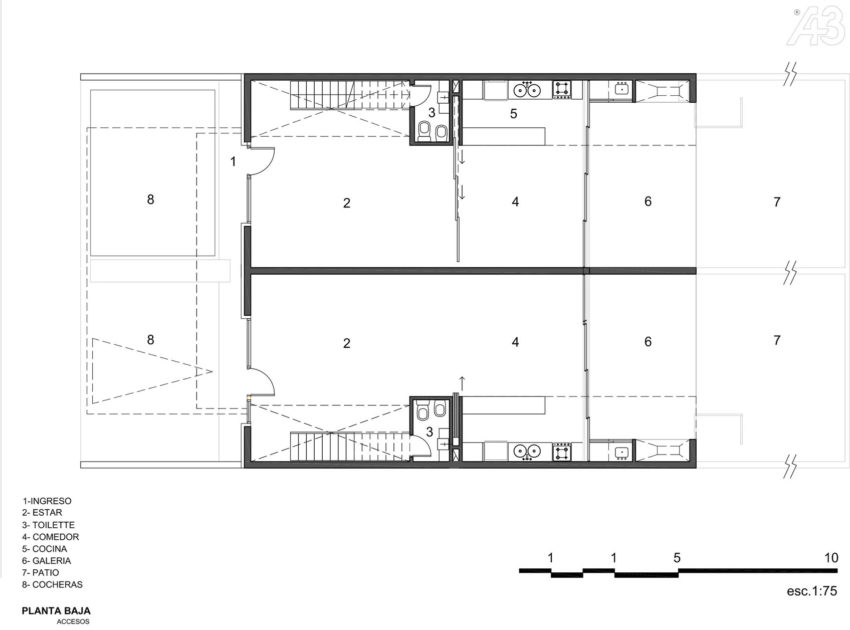 Casas Adosadas by Estudio A+3 (19)