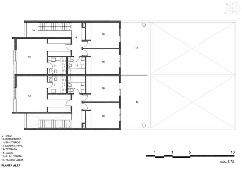 Casas Adosadas by Estudio A+3 (20)