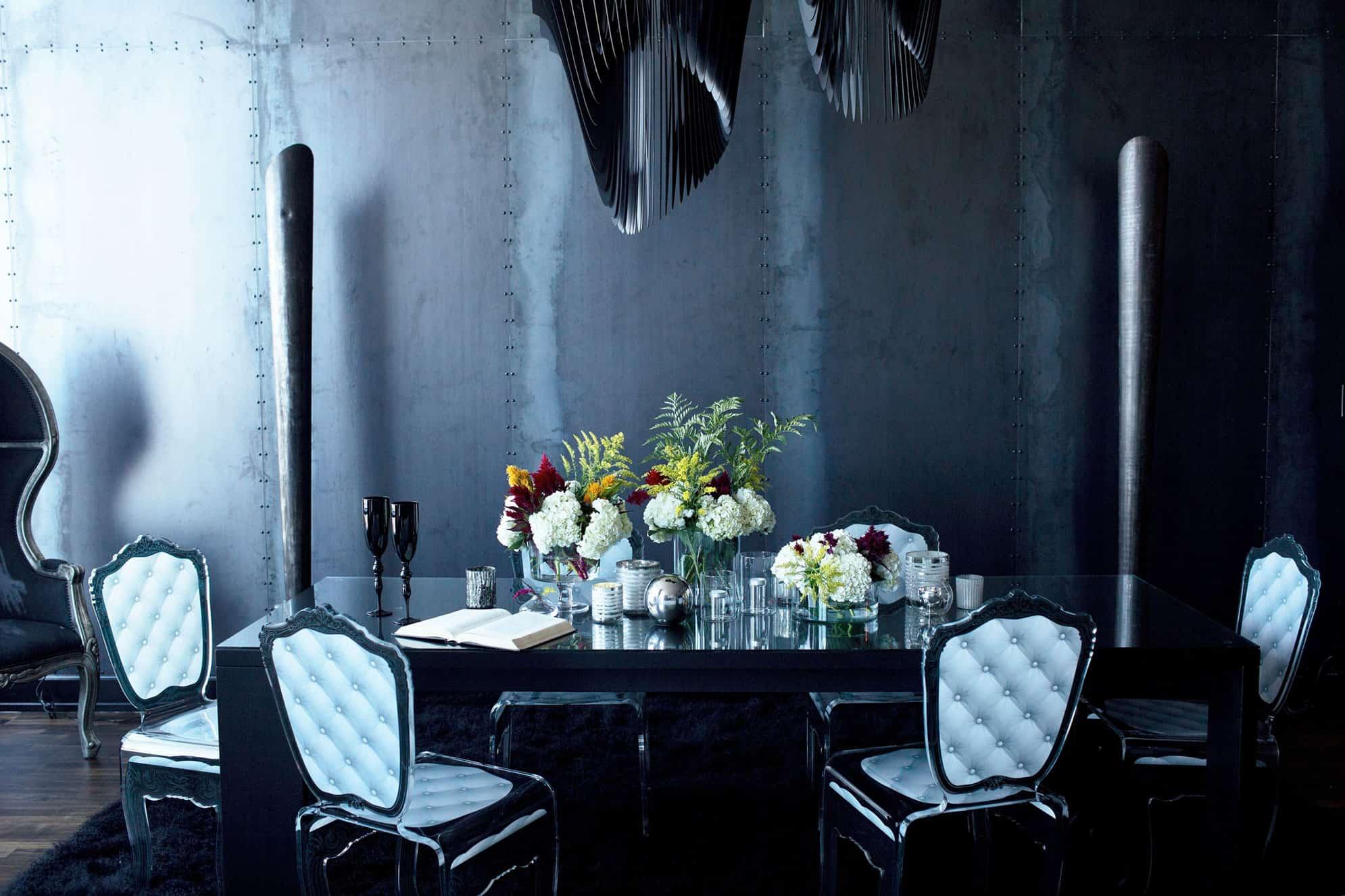 Gothic Glam Loft by BAM Design Lab