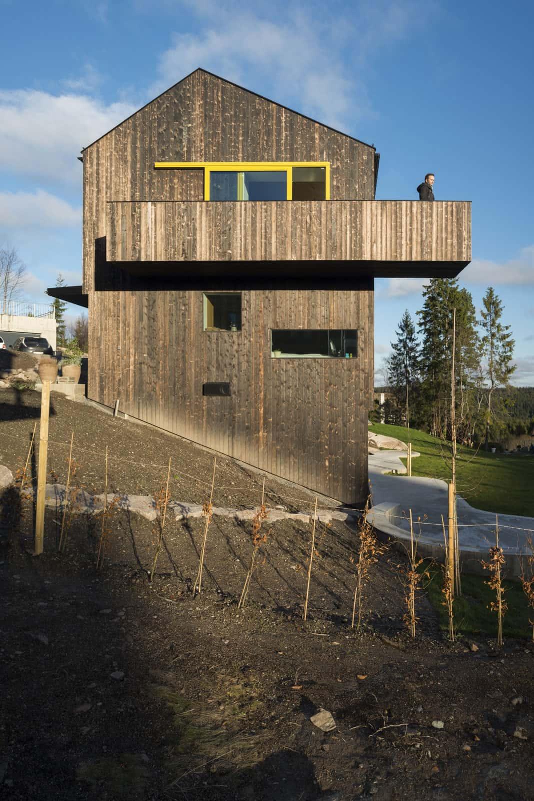 Linnebo House by Schjelderup Trondahl arkitekter