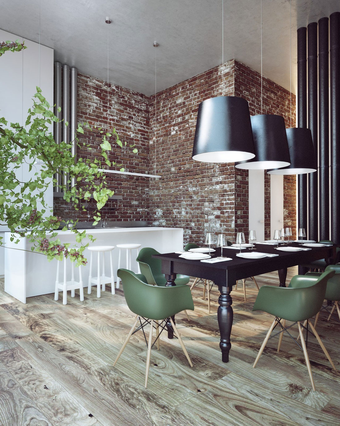 Penthouse Pokrov by Sergey Makhno Architect (14)