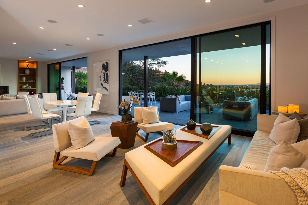 Renovation in los angeles by alexander purcell rodrigues for Home renovation los angeles