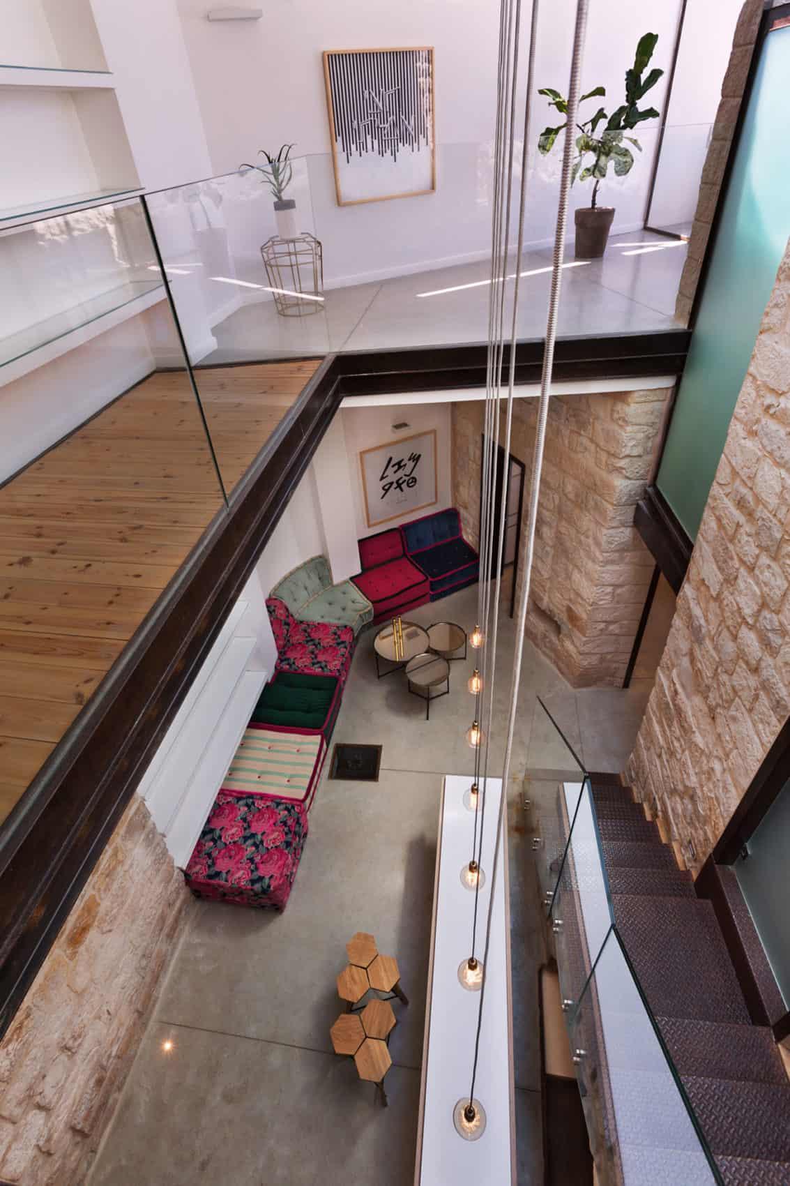Stone House Conversion by Henkin Shavit Architecture (1)