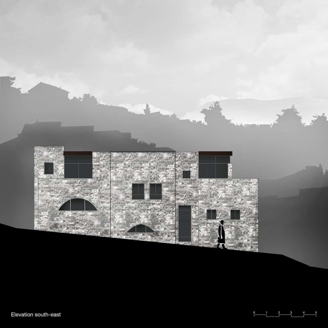 Stone House Conversion by Henkin Shavit Architecture (27)