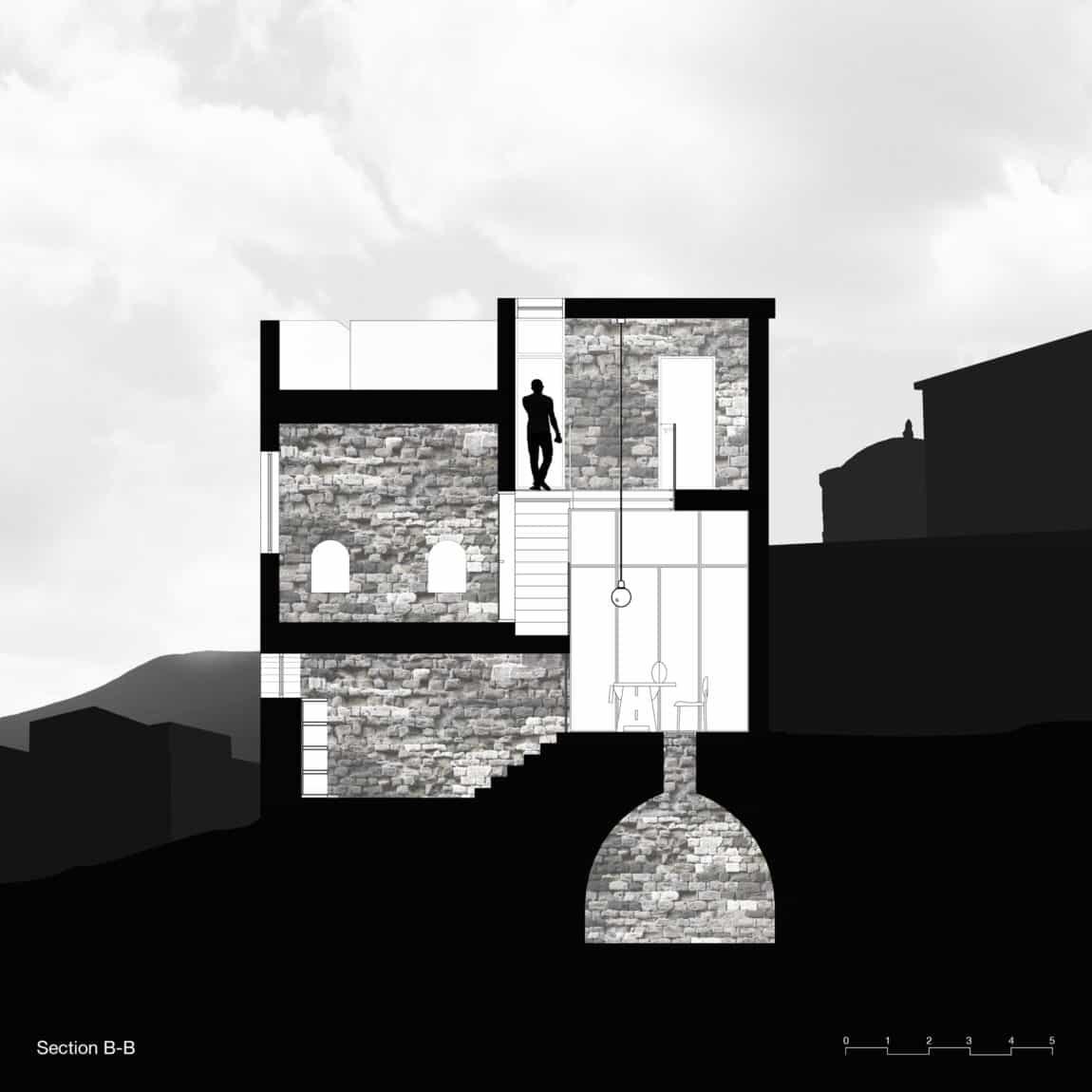 Stone House Conversion by Henkin Shavit Architecture (29)