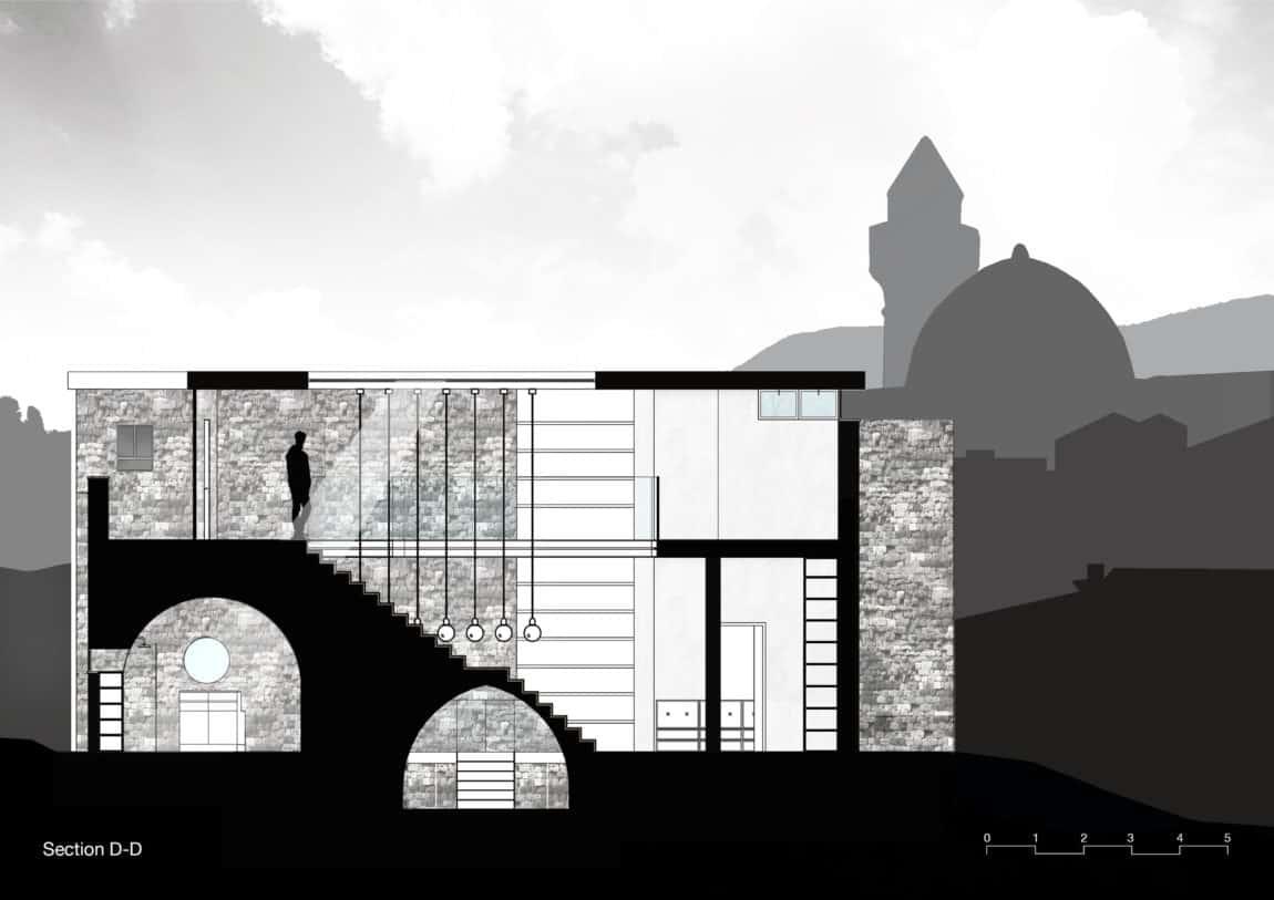 Stone House Conversion by Henkin Shavit Architecture (31)