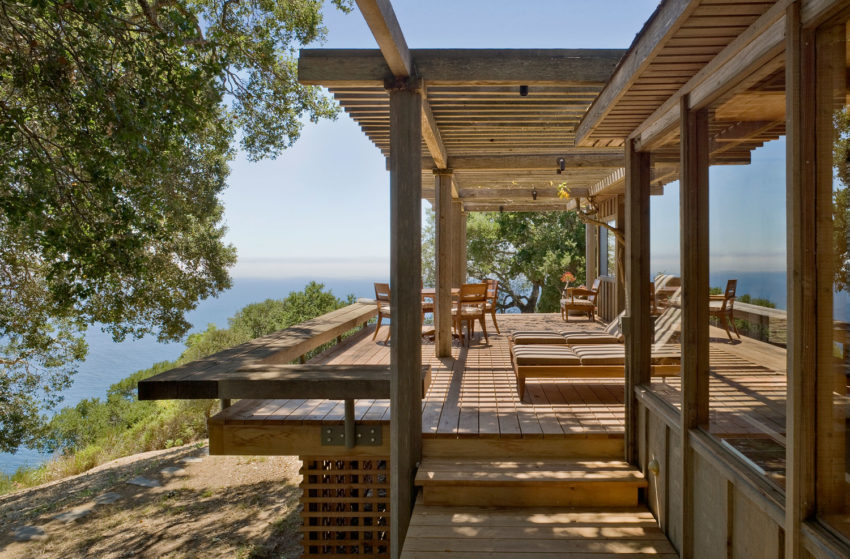 Big sur cabin by studio schicketanz for Big sur cabin