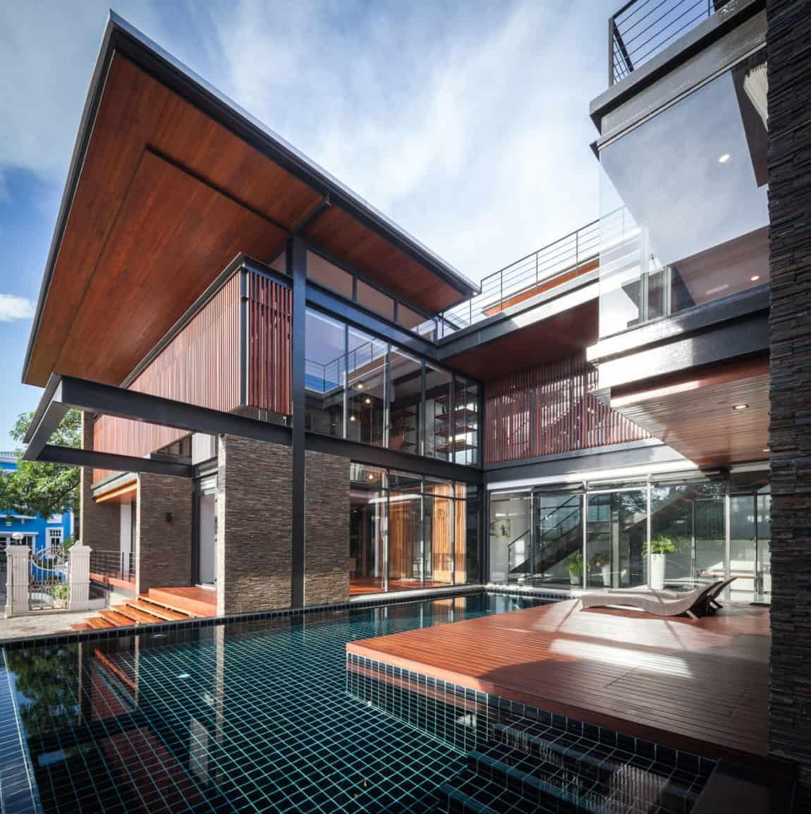 Bridge House by Junsekino Architect And Design (4)