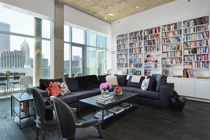 Chicago Penthouse by Dresner Design (5)