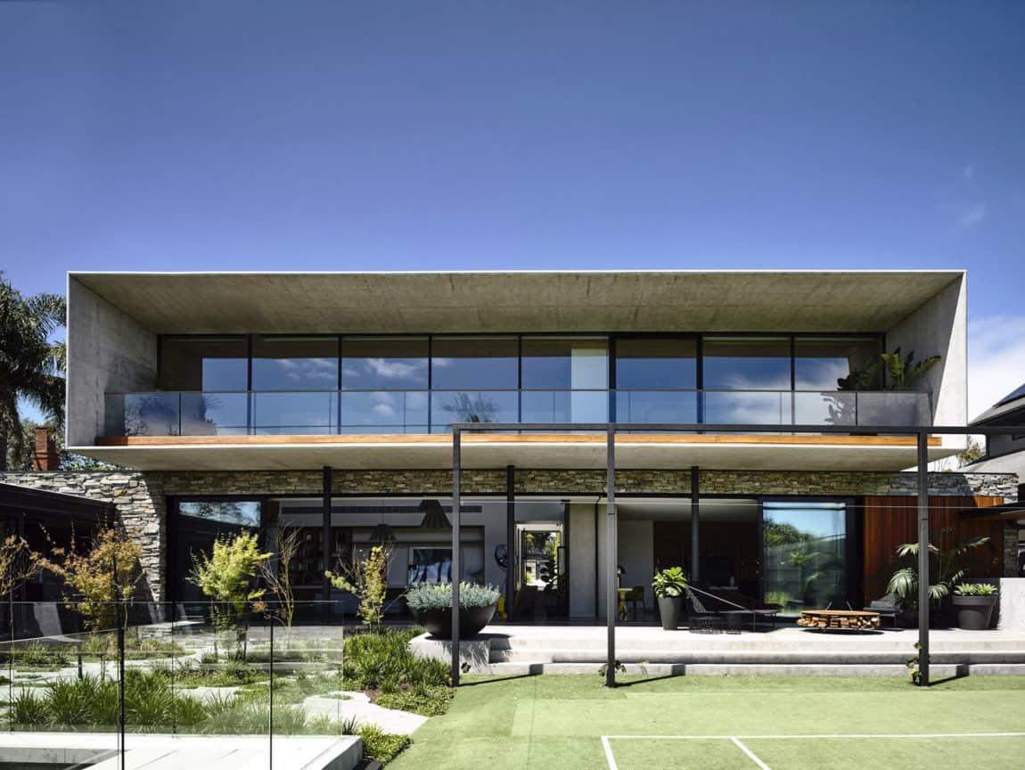 Concrete House by Matt Gibson Architecture (7)